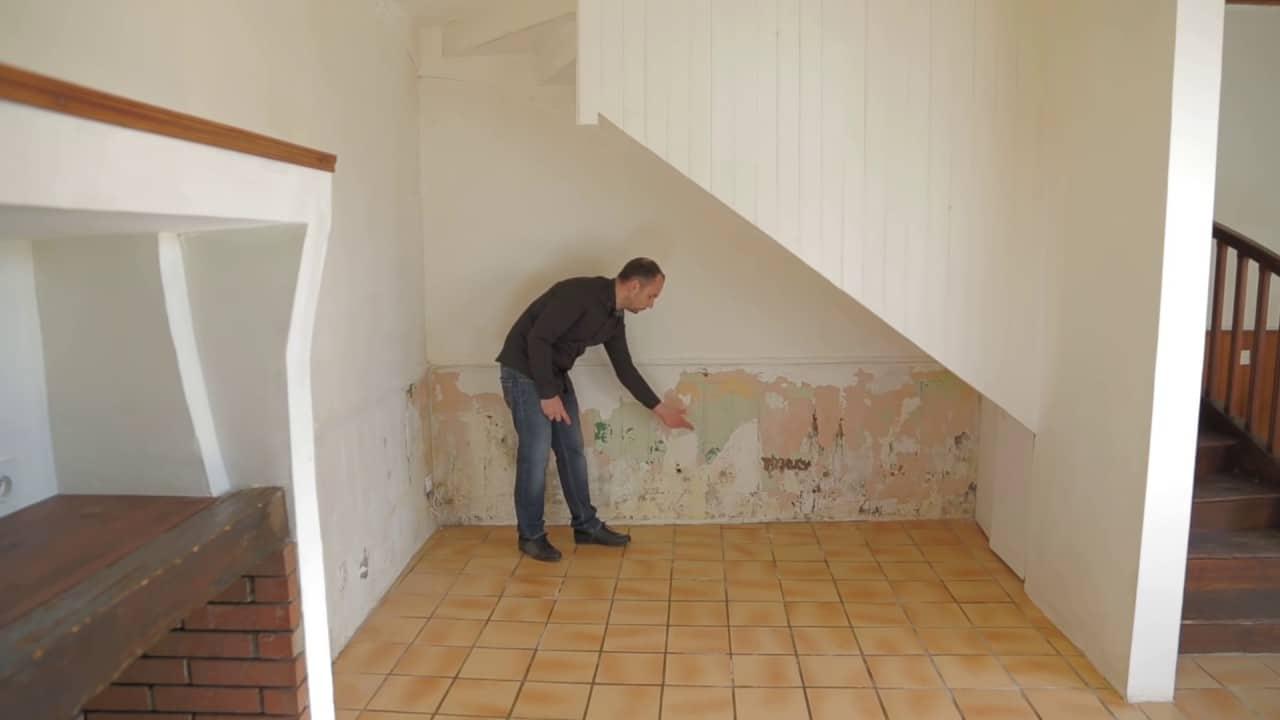 Traiter les murs abimés.  Quelles solutions ?